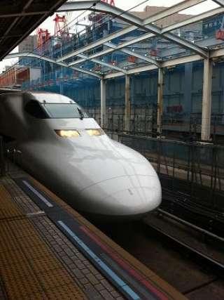 新幹線に乗って・・・・
