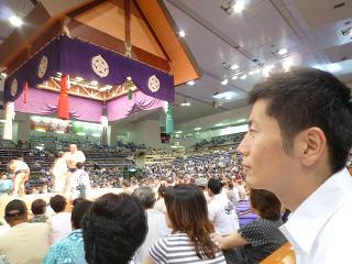 大相撲名古屋場所に