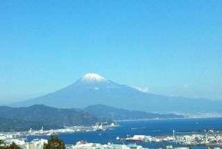 富士山を見ながら・・・・