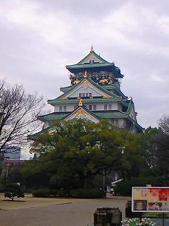 大阪城ランニング♪