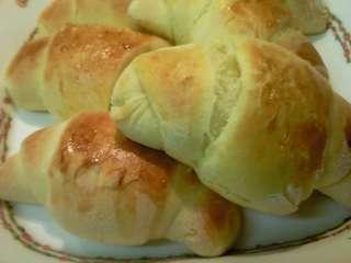 初めての「ロールパン」♪