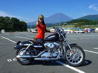 富士山がきれいでした♪