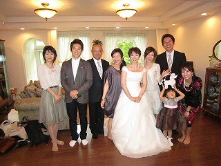 大好きな先輩が花嫁に!
