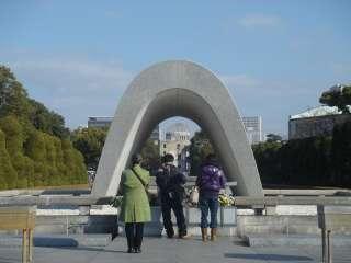 広島を訪れました。